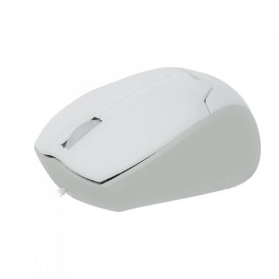 Mouse Fortrek Mini USB Retratil MM601 Branco Optico - 38543