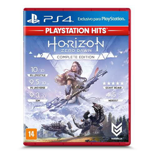 JOGO HORIZON ZERO DAWN: COMPLETE EDITION PLAYSTATION HITS