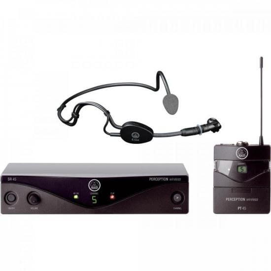 Microfone Wireless PW45 SSET A1 Preto AKG