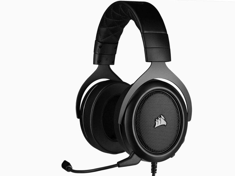Headset Gamer Com Fio Headset Ca-9011215-na Hs50 Pro Stereo Carbon