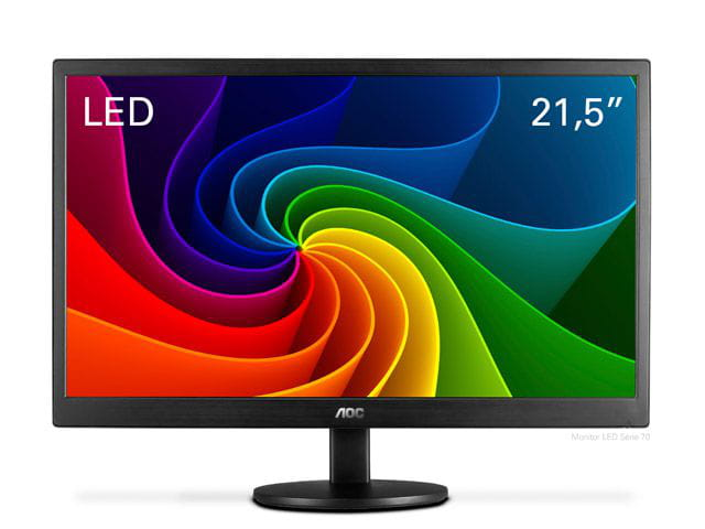 Monitor led 21.5 aoc e2270swn 1920x1080 full hd  widescreen vga  vesa