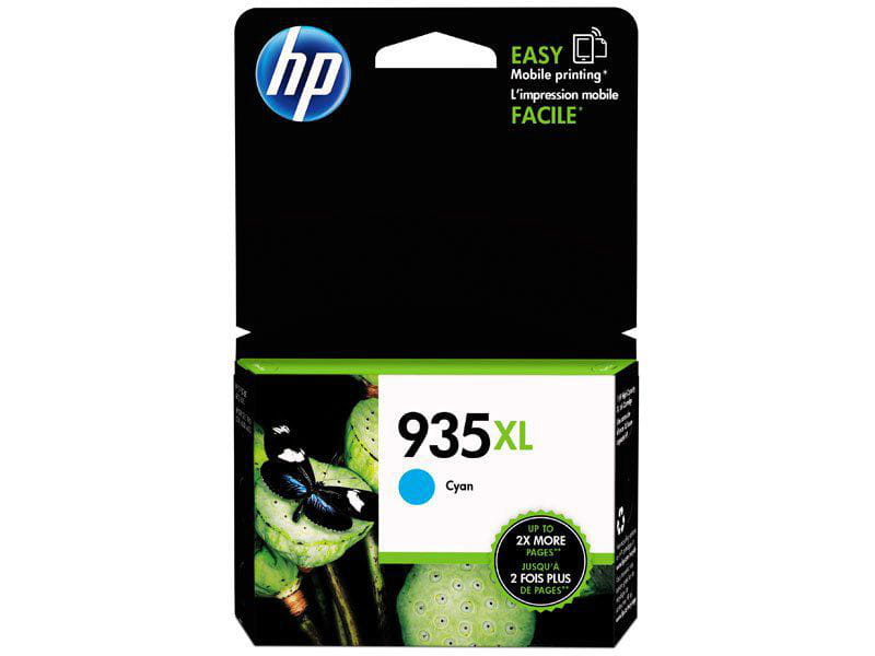 Cartucho De Tinta Officejet Suprimento C2p24ab Hp 935xl Ciano 9,5 Ml