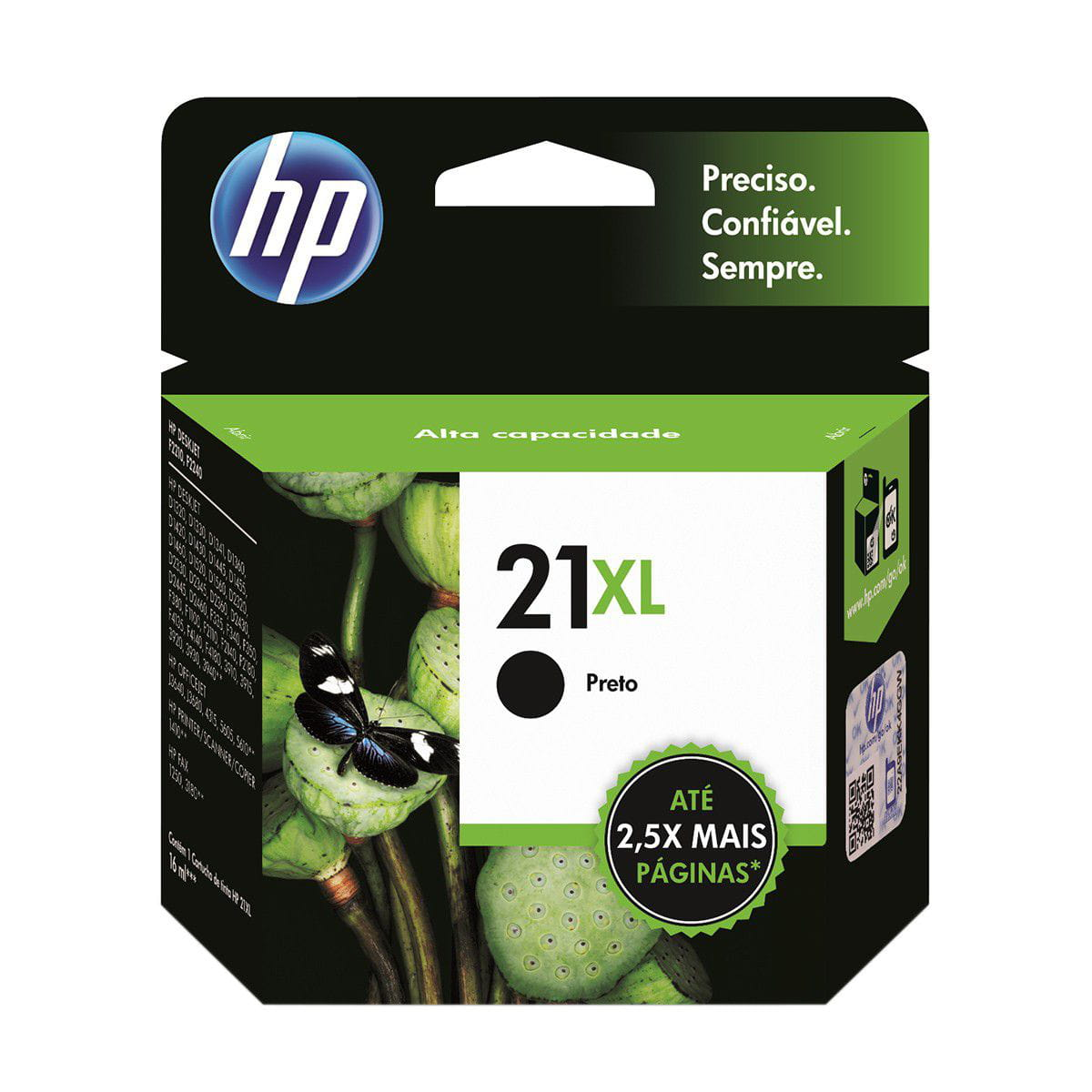 CARTUCHO HP 21XL PRETO C9351CB