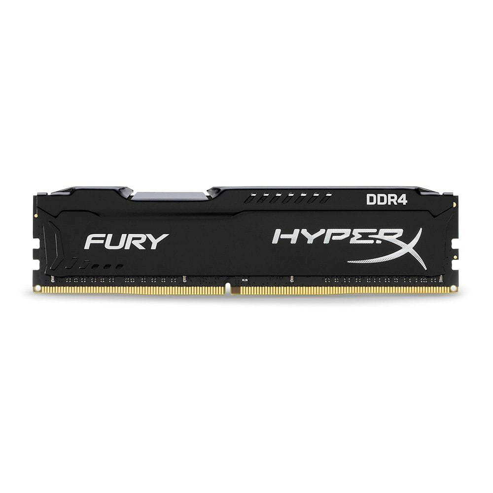 Memoria DDR4 8GB 2666Mhz HyperX Fury Black - HX426C16FB3/8