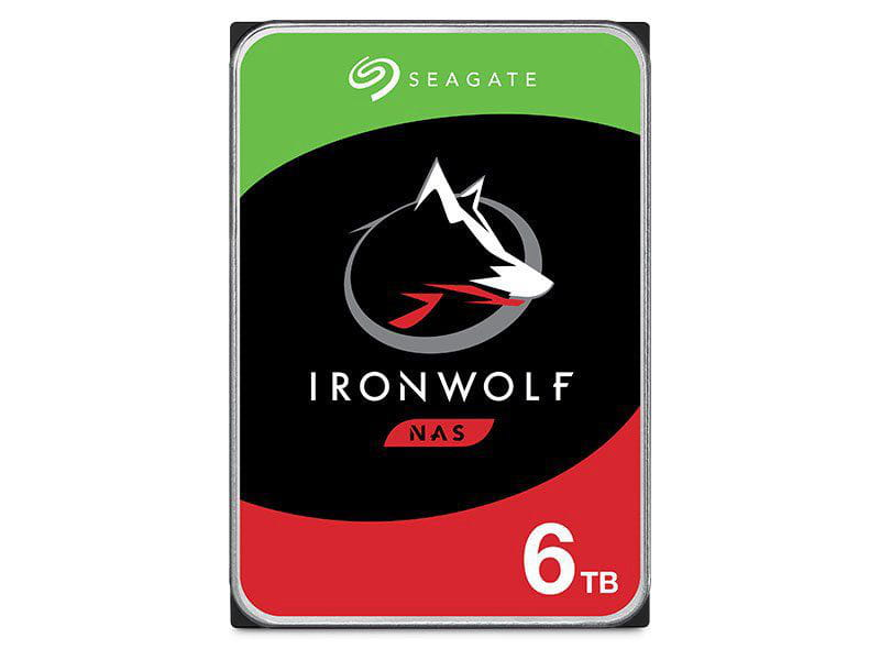 HD 6 TB Seagate Ironwolf ST6000VN0041 200rpm 128mb cache  sata 6gb/s