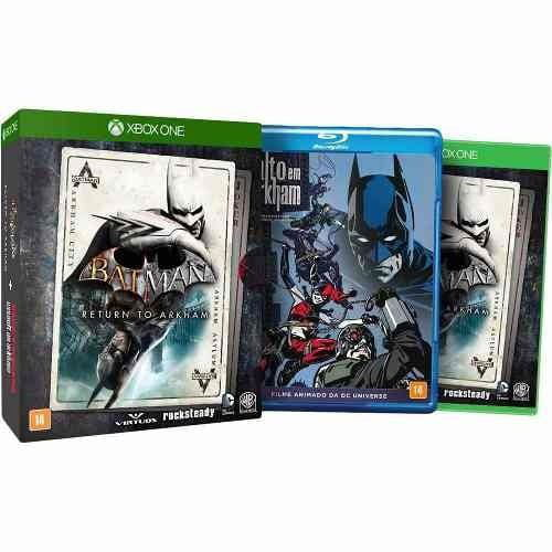 JOGO BATMAN RETURN TO ARKHAM + FILME - XBOX ONE