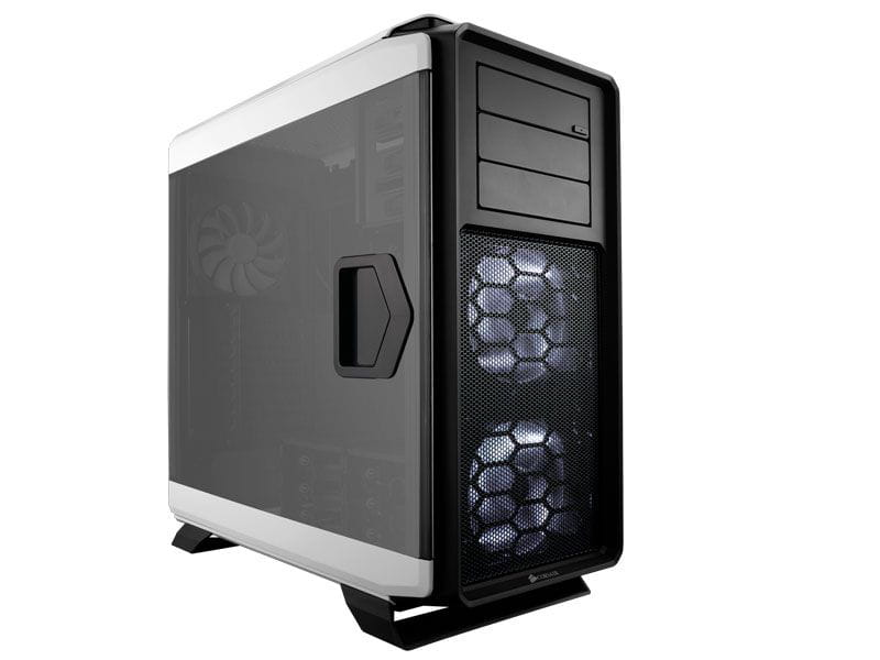 Gabinete gamer corsair cc-9011074-ww graphite series 760t branco fulltower com acrilico