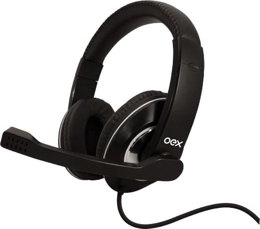 Headset Gamer Action Prime Hs201 Usb Preto Oex