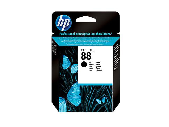 Cartucho de tinta officejet hp suprimentos c9385al hp 88 preto 24,5ml
