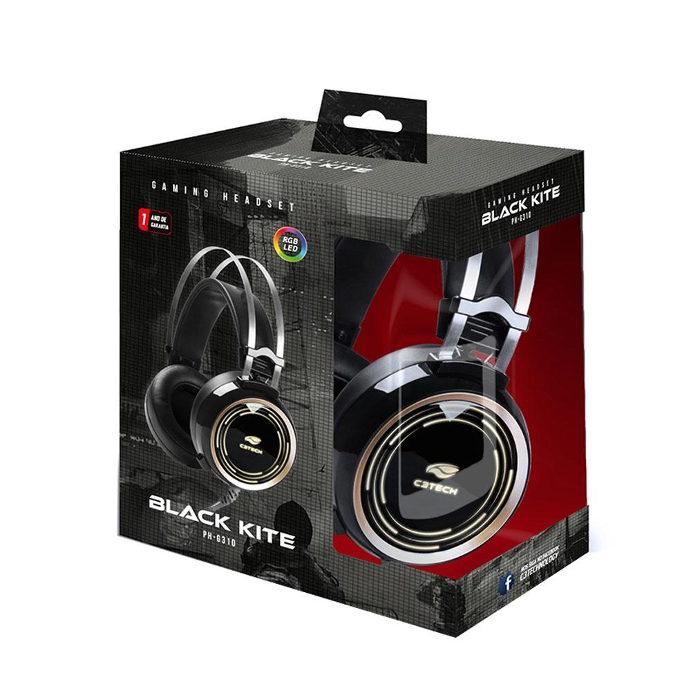 Headset C3T Black Kite - PH-G310BK