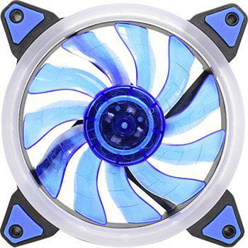 Cooler Fan K-MEX Gamer c/ LED Azul - AF-G1225PH