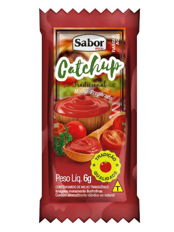 Catchup Sache 156 x 6g Sabor Mix