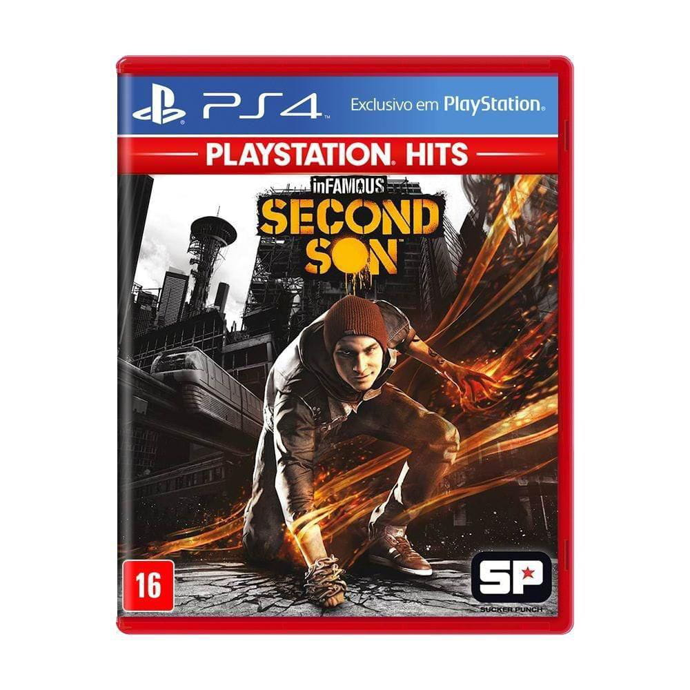 JOGO INFAMOUS SECOND SON - PS4 HITS