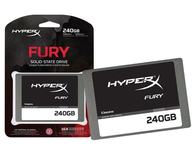 HD SSD 240GB Hyperx Fury 2.5