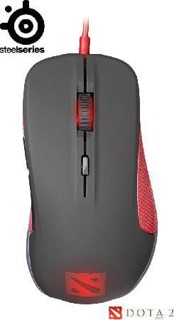 Mouse Steelseries USB Rival Dota 2 Edition Óptico - 62273