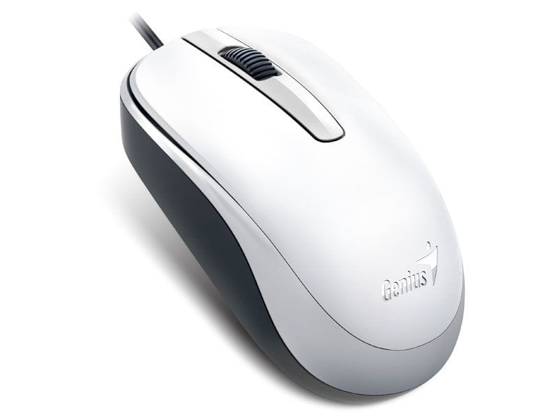 Mouse Genius USB DX-120 1200DPI Branco - 31010105102