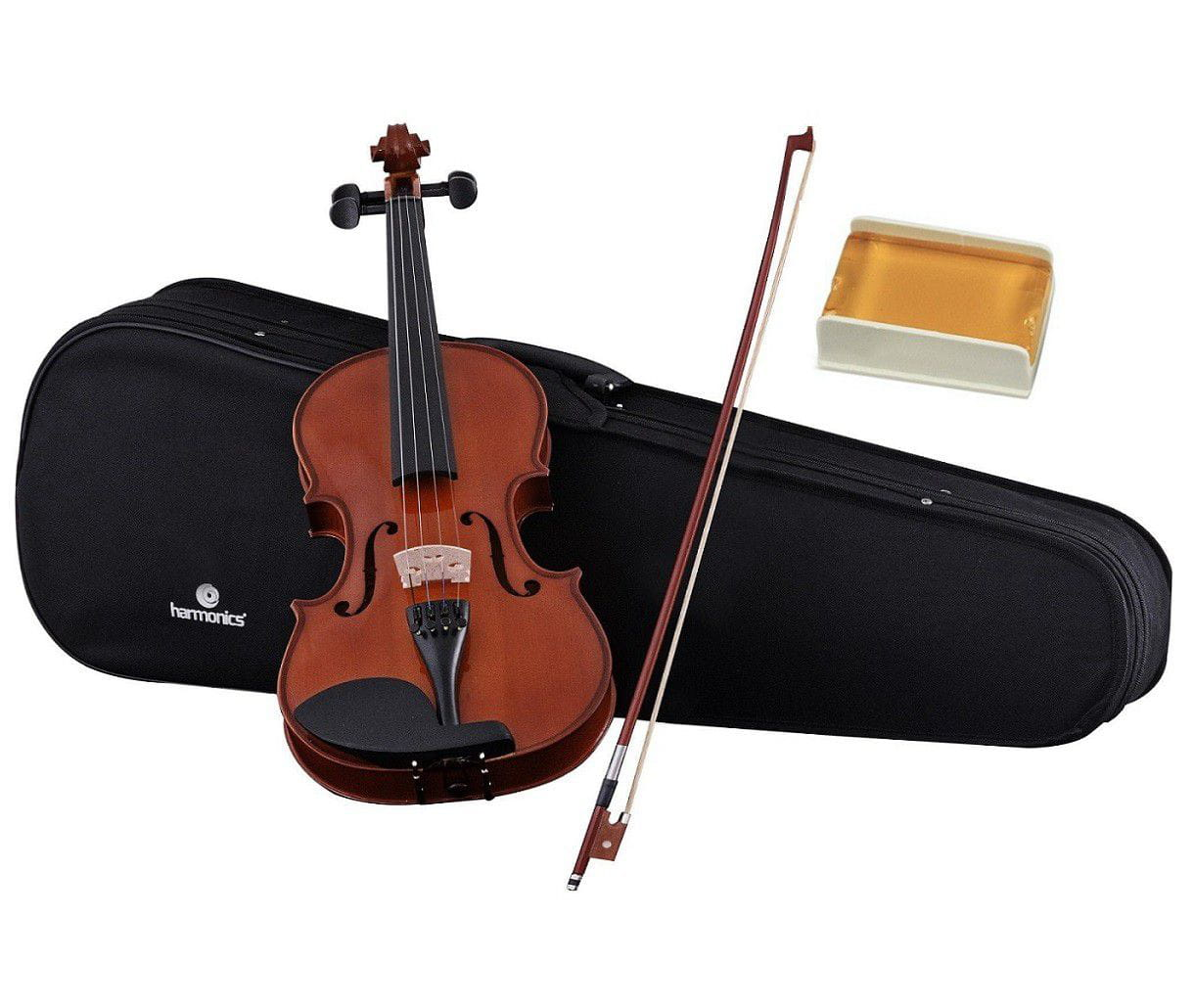Violino 4/4 VA-10 Spruce Maple Natural + Case + Arco + Breu - HARMONICS