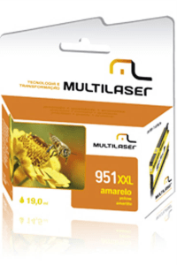 Cartucho Compat. Hp951 Amarelo Multilaser-Co953