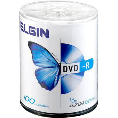 Dvd -r gravável 4.7gb 16x Elgin PT 100 UN