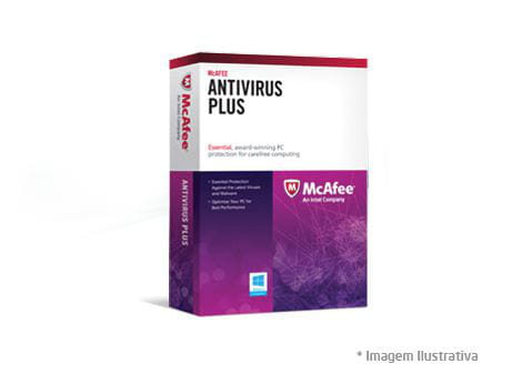 Antivírus Mcafee Plus Virtual Activation Licença de 1 Ano