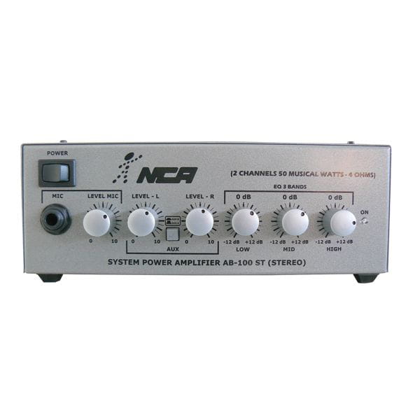 Amplificador Ab100st Nca 30w Rms Stereo L.l.