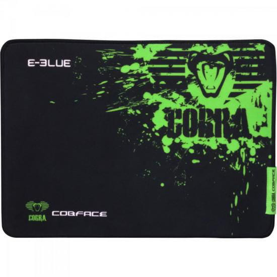 Mouse Pad E-Blue Cobra Preto e Verde 225x280mm Pequeno Gamer - 52189