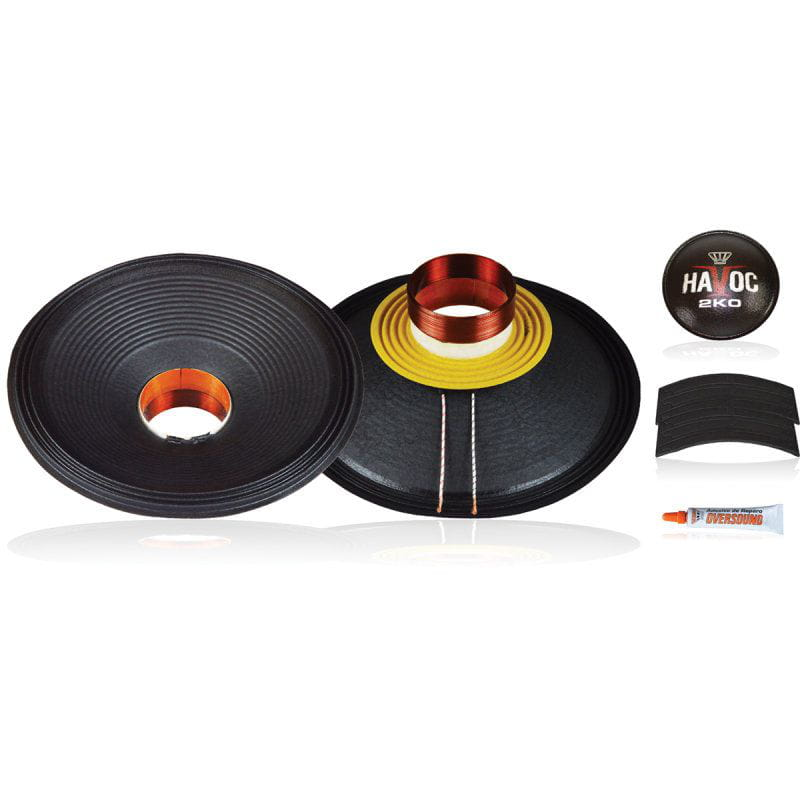 Kit P/ Reparo Woofer 15 Pol. de 1.000wrms 4ohms - Havoc 15 2k0 Oversound