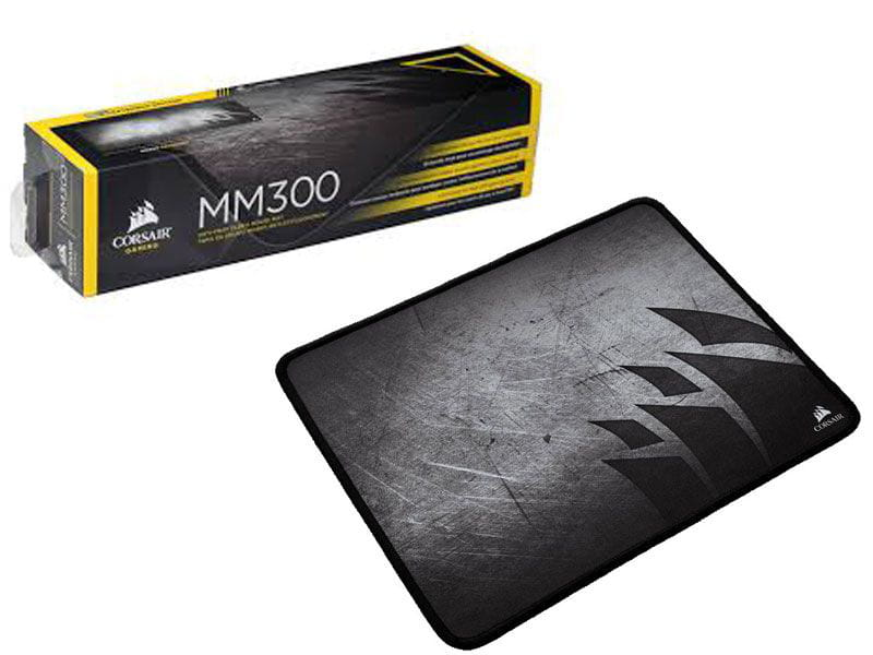 Mouse pad gamer corsair ch-9000106-ww mm300 medium 36 x 30cm preto