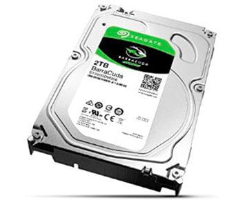 HD Interno Seagate Desktop BarraCuda 2TB SATA 64MB 3.5 7200RPM (ST2000DM006)