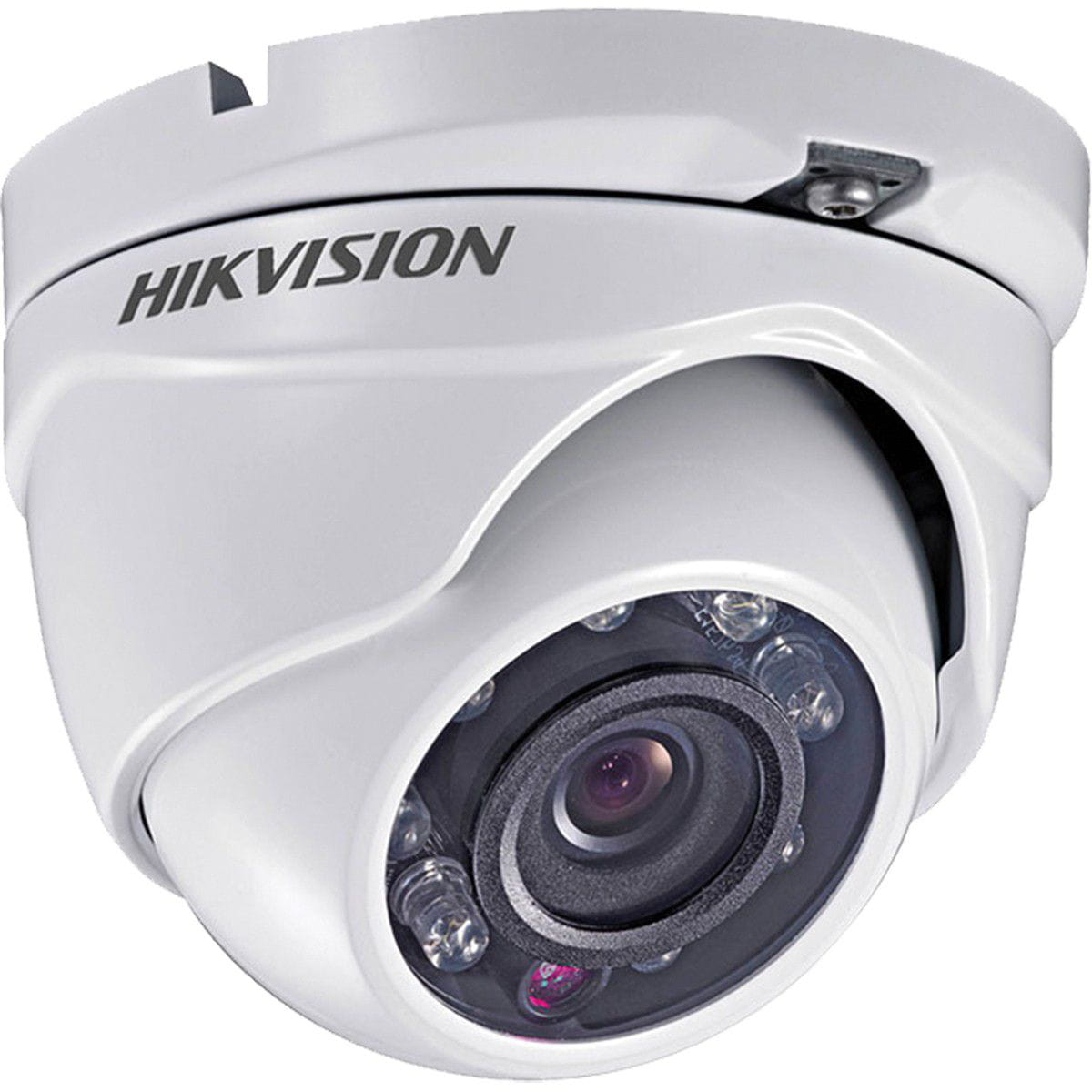 Câmera Dome Turbo HD 720p 2MP IR 20 Metros IP66 2.8mm DS-2CE56C0T-IRM Hikvision