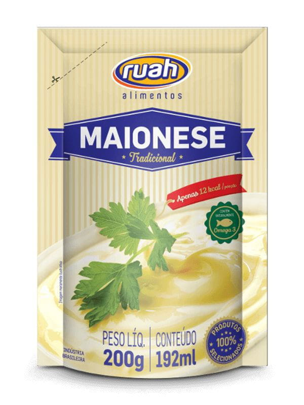 Maionese Pouch 200g Ruah