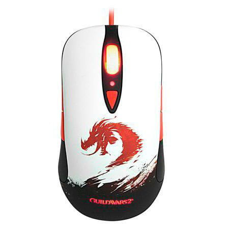 Mouse Gamer STEELSERIES Optico Ambidestro GuildWars2 PN62156