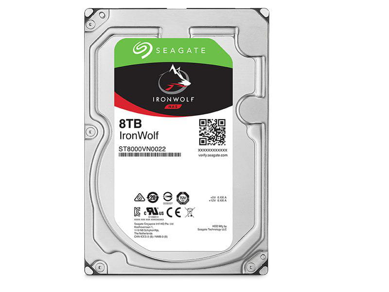 HD 8 TB Seagate Ironwolf ST8000VN0022  7200rpm 256mb cache  sata 6gb/s