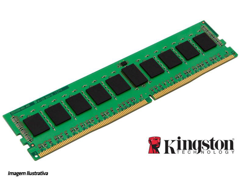 Memoria desk acer dell hp lenovo kingston kcp424ns8/8 8gb ddr4 2400mhz cl17 dimm 288-pin 1.2v