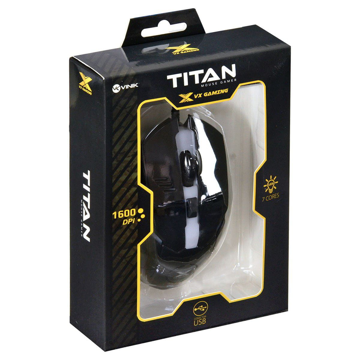 MOUSE GAMER TITAN VX GAMING PTO - 30990