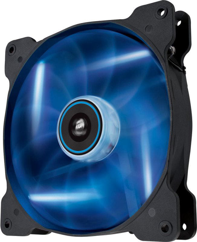 Fan para gabinete air series af140 quiet edition com led azul 140mm x 25mm co-9050017bled