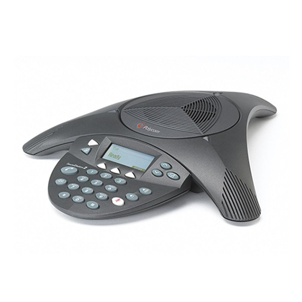 Telefone Audioconferencia Polycom SoundStation2 Expansível (com display)