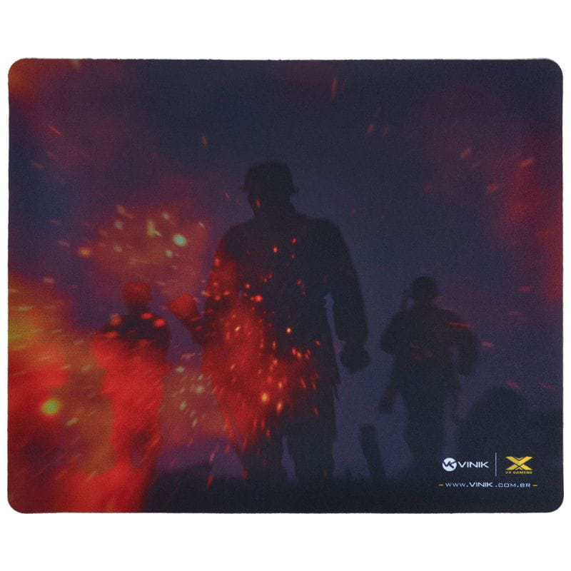 Mouse Pad Vinik VX Gaming War - 320x270x2mm