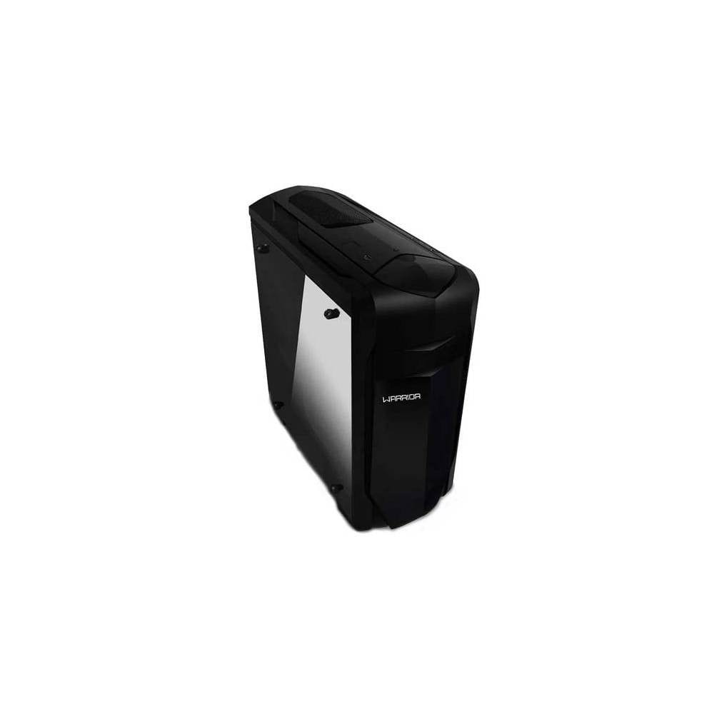 Gabinete Gamer Usb 2.0 3 Baias Internas Preto Warrior - GA155