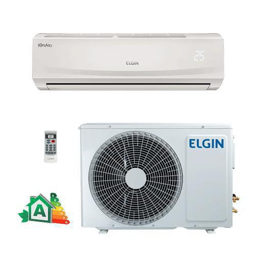 SPLIT HW ELGIN ECO PLUS 9000 BTUS FRIA 410A 220V