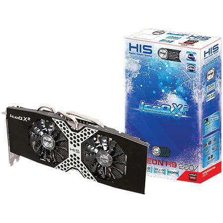 Placa de Vídeo ATI R9 280x Ipower Iceq X² Boost 3GB DDR5 HIS - H280XQM3G2M