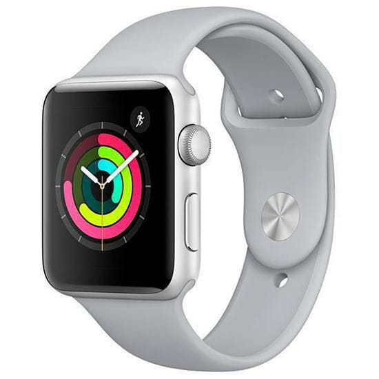 Apple Watch Série 3 42mm MQL02LL/A A1859 - Silver/Fog - GPS