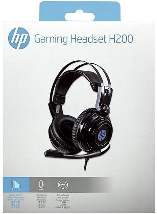 HEADSET GAMER HP H200 2.1 PRETO