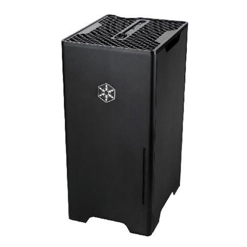 Gabinete Silverstone Fortress FT03B Preto USB3.0 Mini-ITX - SST-FT03B-MINI