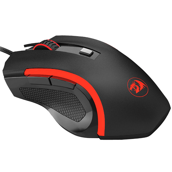 Mouse Redragon Gamer Nothosaur 3200DPI Preto - M606