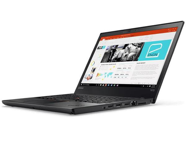 Notebook lenovo thinkpad t470/i5-7300u/4gb/500gb/win10 pro/14