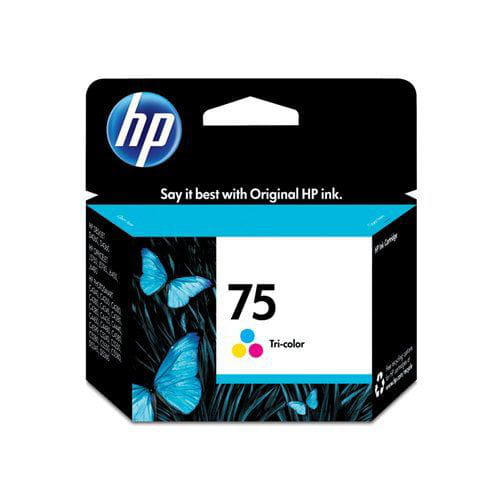 Cartucho De Tinta Hp Suprimentos Cb337wb Hp 75 Color 5,5ml