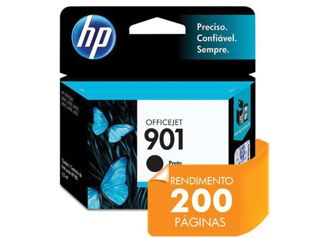 Cartucho HP 901 Preto 4,5ML - CC653AB