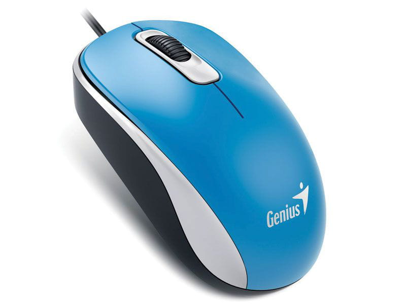 Mouse Genius USB DX-110 Azul 1000Dpi - 31010116103