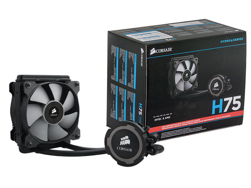 Water Cooler Corsair H75 Radiador 120mm - CW-9060015-WW